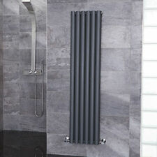Bathroom Radiator Heated Towel Rail Anthracite 1600 x 360mm Double Panel