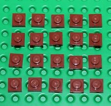 Lego Reddish Brown Plate 1x1 20 pieces NEW!!!