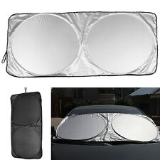 Ideal Folding Jumbo Front Car Window Sun Shade Auto Visor Windshield Block Cover