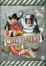 Mythbusters : Season 3 (DVD, 2010, 7-Disc Set) BRAND NEW FREE POST!
