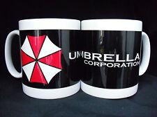 "Mug / Tasse ""UMBRELLA CORPORATION"" Noir 'Resident Evil' Jeu Vidéo"