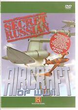 SECRET RUSSIAN AIRCRAFT OF WWII DVD - THE HISTORY CHANNEL