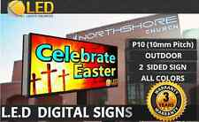 P10 (2 SIDED) 4FT x 8FT (Full color) Programmable LED Digital Sign Board OUTDOOR