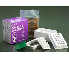 "The CAPSULE MACHINE Complete Kit w/Tamper Tool (SIZE ""0"") Capsule/Pill Filler"