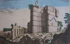 Vieux château de Bicètre , objet épouvantable règne les lutins le silence,18 ème