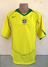 BRAZIL NATIONAL TEAM 2004 2005 2006 FOOTBALL SHIRT JERSEY NIKE ORIGINAL