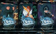 GHOST FILES FACTORY SEALED BOOSTER PACKS X3 UNLIMITED ED. Yu-Yu HAKUSHO ALLIANCE