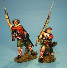 42nd Regiment of Foot Ready 2 Figures - John Jenkins #TIC-08 French & Indian War