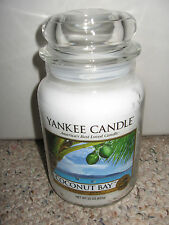 Yankee Candle COCONUT BAY Large Jar 22 oz Candles RARE HTF