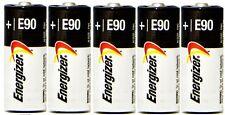 5 New Fresh Energizer E90 N LR1 MN9100 910A 1.5V Alkaline Batteries MADE IN USA