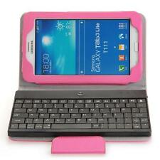 "Bluetooth Keyboard Case Removable for Samsung Galaxy Tab3 7.0"" Lite T111/T110"