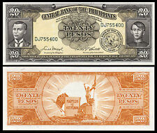 PHILIPPINES 20 PESOS 1949 UNC P 137 HALF BUNDLE (50 NOTES)