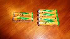 6 NiMH AAA Sealed Phone Batteries for Panasonic HHR-55AAABU Free Shipping