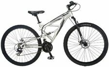 mongoose silver mens 29 er mountain bike bicycle full dual suspension r2780