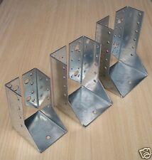 SUPPORTO CHIUSO TROPICALIZZATO PER TRAVE LEGNO LAMELLARE mm. 100x140 (10x14 cm.)