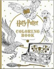 HARRY POTTER NEW OFFICIAL COLORING & POSTER BOOK ~ DUMBLEDORE Ron HERMIONE Dobby
