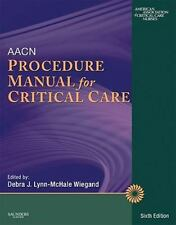 AACN Procedure Manual for Critical Care, 6e, AACN, Good Book