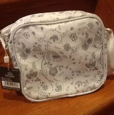 White Carpisa Shoulder Bag w/ Adjustable Strap Original Carpisa From Italy