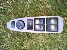 2002 - 2007 BUICK RENDEZVOUS DRIVER L MASTER WINDOW SWITCH GRAY OEM