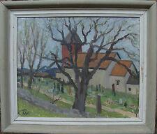 """Filip Wahlström 1885-1972, """"Kirche in Bohänäs"""", um 1940/50"""