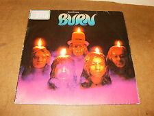 DEEP PURPLE : BURN - GERMANY LP - PURPLE RECORDS ( 1 C 062 94 837 ) 1974