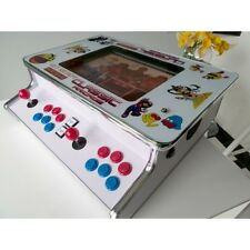 "NEW 15"" Flat Bar/Table Top Arcade machine 512 JAMMA Games Street Fighter n MORE"