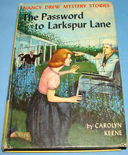Nancy Drew #10 Password to Larkspur Lane 1st PC