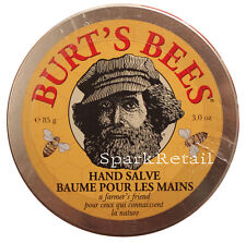 Burt's Bees Organic A Farmer's Friend HAND SALVE Balm For Dry Hands 85g Burts