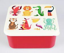 """Frischhalte-Dose, Lunchbox, Brotdose für Kinder, Motiv """"Colourful Creatures"""""""