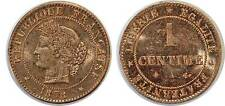 1 CENTIME CERES 1878 A F.104 SUP++