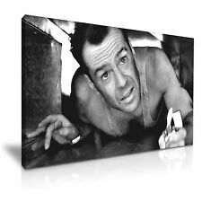 Film Die Hard Bruce Willis tela WALL ART PICTURE PRINT 76x50cm