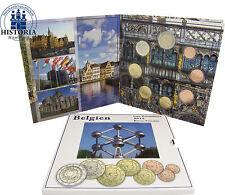 Belgien 3,88 Euro 2015 Stgl. KMS 1 Cent bis 2 Euro Flagge Sondersatz im Folder