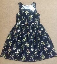 "Bnwt H&M Girls ""Floral"" Dress Age 6-7 -8 Years Next Season"