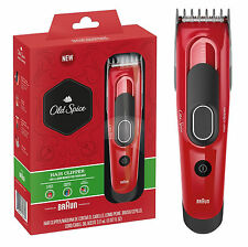 Old Spice Hair Clipper Trimmer Shaver Cutter Beard and Head by Braun 50s NEW