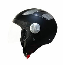 CASCO SCOTLAND DEMI JET AIR AREATO 100049 LEGGERO MOTO SCOOTER HELMET