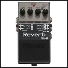 Boss RV-6 Digital Delay / Reverb Guitar Effects Pedal RV6
