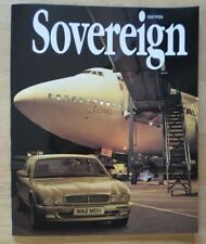 JAGUAR SOVEREIGN orig 1995 International Magazine Brochure - Edition 15