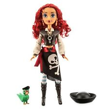 "Pirate Queen Pearl -Pirates of the Caribbean 12"" Doll NIB Disney Attractionistas"