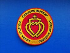 N°20 écusson patch insigne tissu religieux Coeur Vendéen