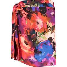 GOTTEX Contour Garden Of Eden Silk Beach Skirt Size Large BNWT