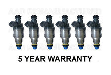 * 5 YEAR WARRANTY * Genuine Bosch Set Of 6 Fuel Injectors for Chevy 3.8L