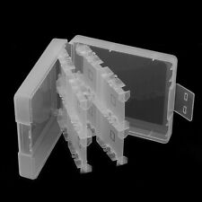 16in1 Protective Clear Plastic Video Game Card Storage Case Box for Nintendo 3DS