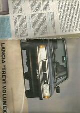 SP30 Clipping-Ritaglio 1982 Lancia Trevi Volumex