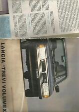 SP30 Clipping-Ritaglio 1982 Lancia Trevi Volumex