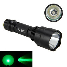 Superbright Green Q5 5000LM LED Tactical Flashlight Torch Hunting 18650 Lamp
