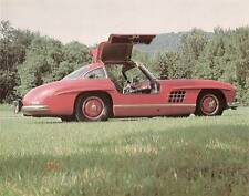 "9 1/4"" x 7 3/8"" 1955 Mercedes Benz 300SL Gullwing Coupe Photo from Michael Bruce"