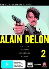 French Screen Icons - Alain Delon - 02 (DVD, 2009, 4-Disc Set) - Region 4