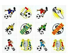 48 Football Tattoos boys washable party bag toy birthday body sticker children