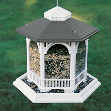 Kay Home Products Deluxe Gazebo Bird Feeder Stylish Large Capacity - New