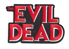 """EVIL DEAD Logo Embroidered 3.25""""  Patch- FREE S&H (MIPA-ED)"""
